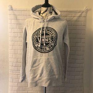Vans gray pullover hoodie sweatshirt